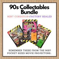 Vintage Rare 90's Toys Bundle - Action Replay Movie In your Pocket Collection