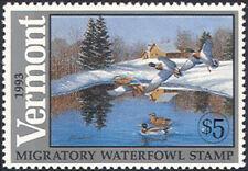 VT8 1993 Vermont State Duck Stamp