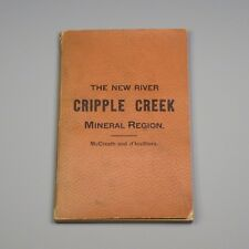 1887 book - New River Cripple Creek Mineral Region of Virginia - Norfolk Western