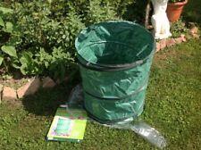 3 Stück Riesen Gartentasche pop up Laubsack 124 l für Rasen, Laub, Abfälle etc.