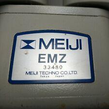 Grs Meiji Techno Microscope Emz 5 Series 7x 45x Zoom Stereo Microscope Head