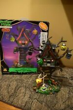 Lemax Spooky Town 2006 Hungry Tree House Lighted Halloween Rare #64427 (v320)
