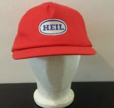 Heil Front Loaders Truck Patch Red Mesh Trucker Snapback Hat Cap