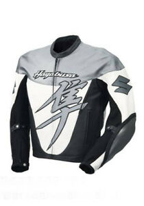 SUZUKI HAYABUSA Racing Biker Leather Jacket Motorbike/Motorcycle Leather Jackets