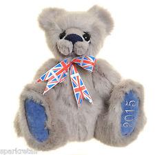 Kaycee Bears LANCASTER Soft Handmade 18 Inch Toy Grade Plush Toy Bear Union Jack