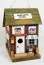 Shabby Wood Decorative Hardware Store Bird House Wooden Garden Indoor