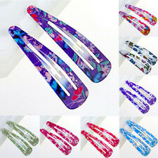 10Pcs Wholesale Multicolour Hair Accessories Girls Women's Hair Snap Clips Claws