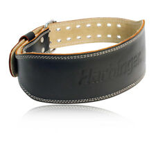 """Harbinger 4"""" Padded Leather Weight Lifting Belt S"""