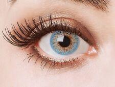 aricona Farblinsen farbige Kontaktlinsen ohne Stärke hellblaue Augenlinsen
