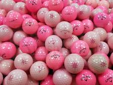 12 NEAR MINT Callaway Solaire PINK  AAAA Used Golf Balls