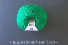 RICO Merino Aran Knitting Crochet Yarn 051 Emerald Green 1 ball (50gm)