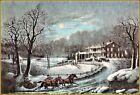 Currier & Ives : American Winter Scenes  Art Print