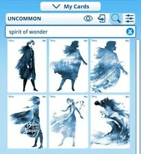 Topps disney collect spirit of wonder winter variant with award