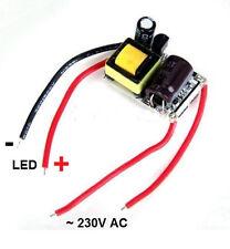 LED-Treiber Trafo Netzteil 1x 3W 1-2x 3W 600mA  230V AC ohne Gehäuße