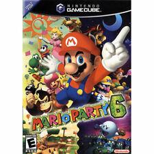 MARIO PARTY 6  NTSC-U/C   US USA  NINTENDO GAMECUBE GC  60Hz  PROGRESSIVE MODE!