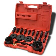 19 PC Auto Jumbo Bearing Race & Seal Driver Tool Master Set Wheel Axle w/ Case
