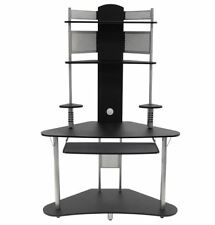 Computer Desk for Small Spaces Student Corner Small Writing Table Compact Tower