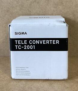 SIGMA TELE CONVERTER TC 2001 LENS FOR NIKON