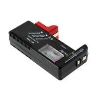 USA AA/AAA/C/D/9V/1.5V Universal Button Cell Battery Volt Tester Checker BT-168