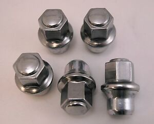 5 New Dodge Charger Challenger Magnum Factory OEM Stainless Lug Nuts Lugs 824AA