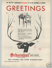 1959 PAPER AD Schoenhut Toy Play Piano 87 Year Old Company