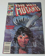 NEW MUTANTS #18  1ST APP NEW WARLOCK SIENKIEWICZ COVER & ART VF- to VF