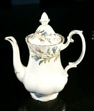 Beautiful Royal Albert Brigadoon Coffee Pot