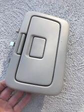 97-01 Toyota Camry TAN Roof Garage Door Opener Holder Storage Box Ceiling Top