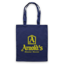 ARNOLD'S DRIVE IN UNOFFICIAL HAPPY DAYS DINER LOGO TV TOTE BAG LIFE SHOPPER
