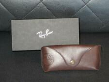 Ray Ban  Brown Leather sunglasses case