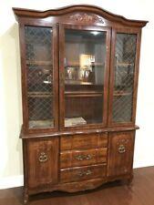 Vintage China Cabinet Hutch