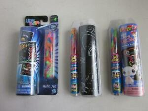 3 Lite Brite Picture refill sets 2 NEW 1 opened Littlest pet shop and others