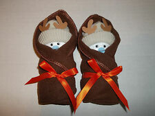 DEER HUNTING LITTLE SWADDLERS DIAPER BABY BOY SHOWER  FAVORS