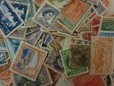 50 worldwide old used stamps lucky dip