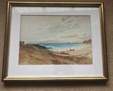 Original Scottish Coastal Watercolour by RSA Artist