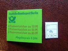 Berlin Markenheft 13 b postfrisch