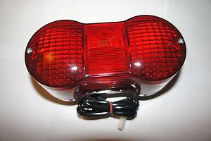 NEW complete taillight rear light for SUZUKI GT550 J, K, L, M, A, 1972-1976