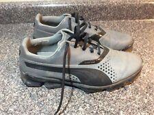 Silver & Black Euc Men's Puma Golf Shoes187896 Size 9 Power Vamp