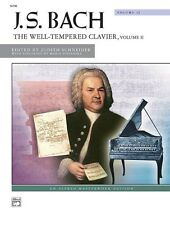 Bach - Well Tempered Clavier Vol. 2, Alfred ed.
