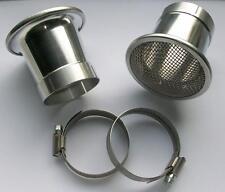 Ansaugtrichter aluminio para Bing 40 él carburador bmw r100 GS, R, RS, RT