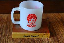 Vintage Music City Milk Glass Mug Decoration World's Greatest Mom Nashville, TN