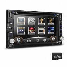 "2 DIN Autoradio DVD 6.2"" GPS Navi SD USB für NISSAN TIIDA QASHQAI X-TRAIL MICRA"