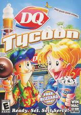 DQ TYCOON Dairy Queen Sim WinXP/Vista & MacOSX Game NEW