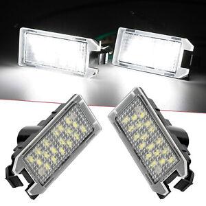 LED License Plate Light Bulbs For Fiat Dodge Jeep Grand White 6000K 2x Bulb Lamp