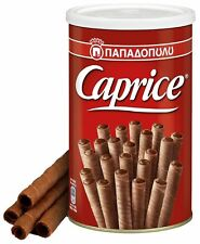 GREEK CAPRICE PAPADOPOULOU VIENNESE WAFERS WITH HAZELNUT & COCOA CREAM 400gr