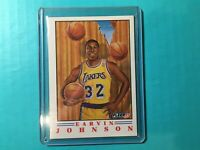 EARVIN MAGIC JOHNSON 1991 FLEER PROVISION INSERT CARD #6 LAKERS