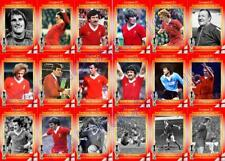 Liverpool 1977 UEFA Super Cup winners football trading cards