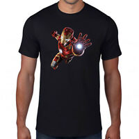 Avengers Iron Man T-Shirt,Superhero Hulk Captain America Thor Marvel Comics Top