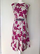 Marella Cerise Pink Floral Dress NEW UK size 16