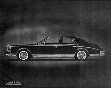 Old Print.  1980 Cadillac Seville Sedanca Auto Ad